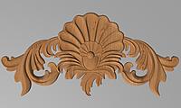 Код ДГ 39.Деревянный резной декор для мебели. Декор горизонтальный, фото 1