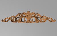 Код ДГ 40.Деревянный резной декор для мебели. Декор горизонтальный
