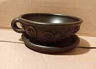 Чашка чайна піала Калина з блюдцем