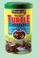 Гранулированный корм для водных черепах и всеядных рептилий