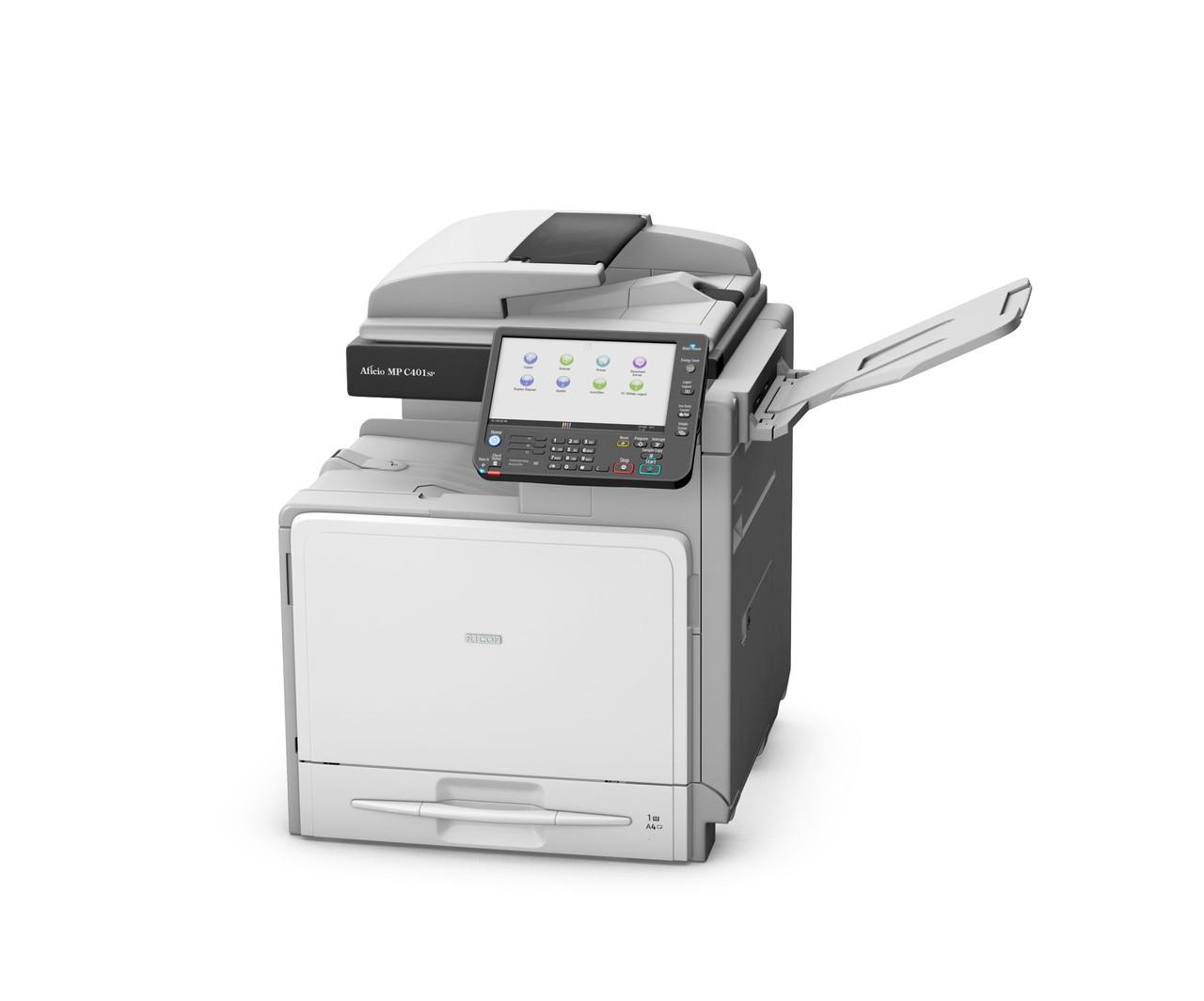 МФУ Ricoh MP C401SP высого качества. Цветной принтер/сканер/копир.