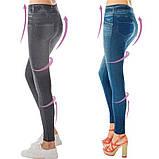 Коригувальні штани Slim` N Lift Caresse Jeans (лосіни, легінси, леджинси), фото 4