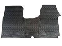 Комплект с 3 штук передних резиновых ковриков на Renault Trafic  2001->  — ВЛОТА  (Украина) - 1014