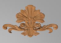 Код ДЦ21. Резной деревянный декор для мебели. Декор центральный, фото 1