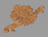 Код ДЦ21. Резной деревянный декор для мебели. Декор центральный, фото 2