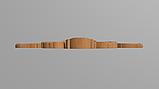Код ДЦ21. Резной деревянный декор для мебели. Декор центральный, фото 3