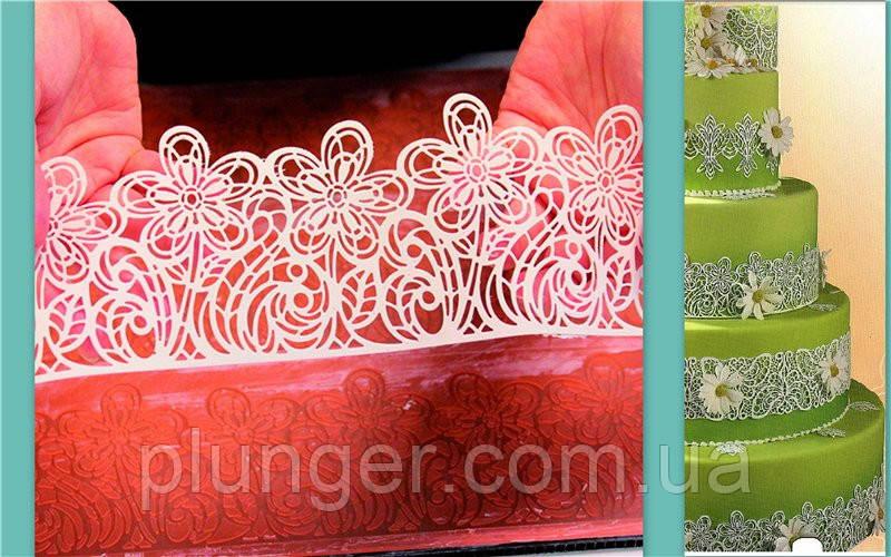 Коврик силиконовый для айсинга Цветы