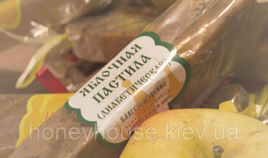 Пастила яблочная натуральная Диабетическая, 65г.  (батончик)