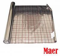 Комплектующие к водяному тёплому полу Пленка для теплого пола фольгированная Maer 50 м