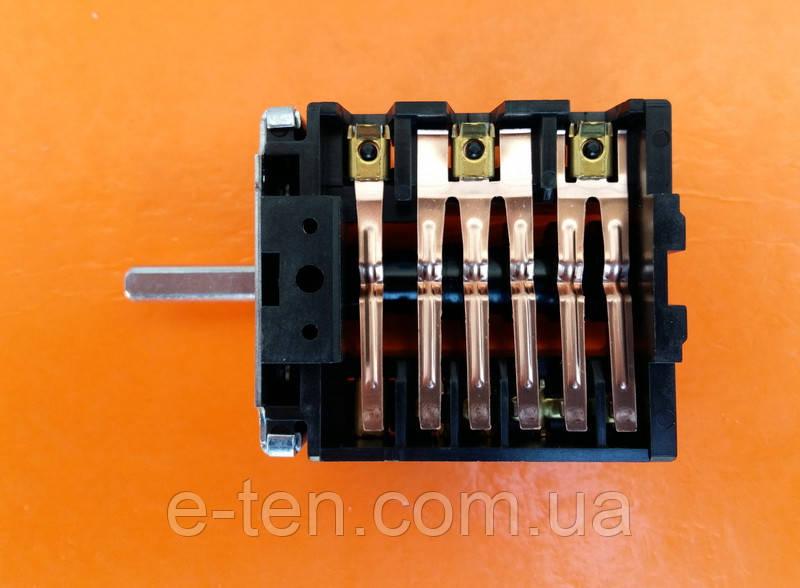 Переключатель ПМ 26866 (46.26866.801) шестипозиционный для электроплит и духовок       EGO, Германия