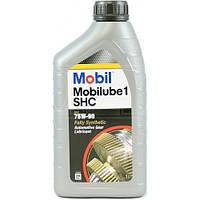 Масло трансмиссионное Mobilube 1 SHC 75W-90(1л)
