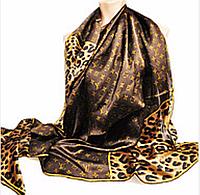 Платок шёлковый большого размера Luis vuitton