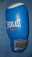 Перчатки боксерские EVERLAST  10-12oz  синие