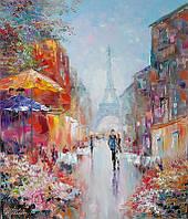 «Уик-енд в Париже» картина маслом