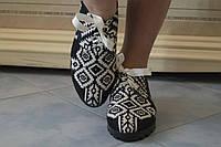 Цветные стильные текстильные мокасины. АРТ-0474