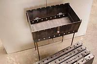 Мангал-чемодан (12 шампуров), толщина 2 мм, разборной, компактный CHZ /002