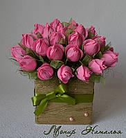 """Букет из конфет """"Бутоны роз с секретом"""""""