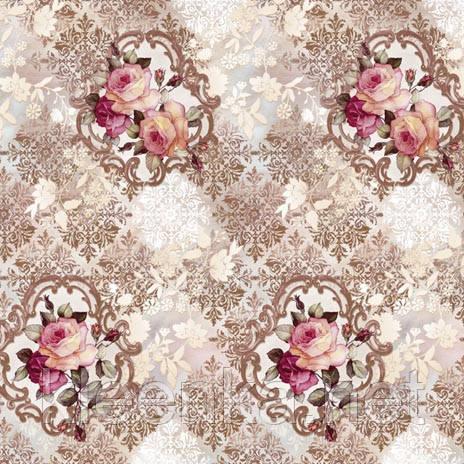 Шикарная скатерть клеенка Розы на кухонном столе НОВИНКА 2016!, фото 2