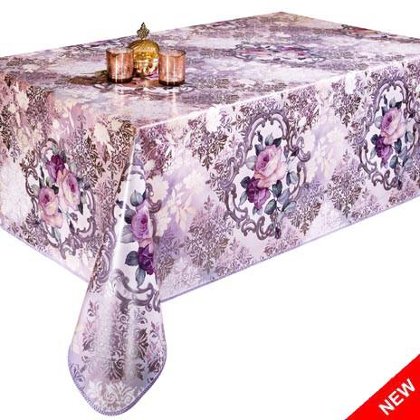 Скатерть клеенка Розы на кухонном столе НОВИНКА!