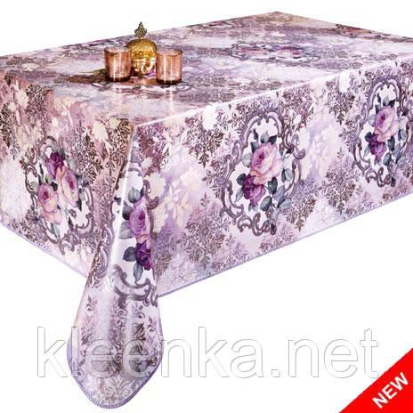 Скатерть клеенка Розы на кухонном столе НОВИНКА!, фото 2
