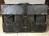 Мангал-чемодан с подставками (8 шампуров), толщина 3 мм, разборной, компактный