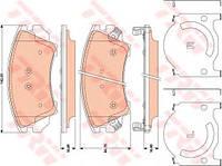 "Гальмівні колодки дискові OPEL/SAAB Astra/Insignia/Zafira/9-5 ""F 17"" ""08>>"
