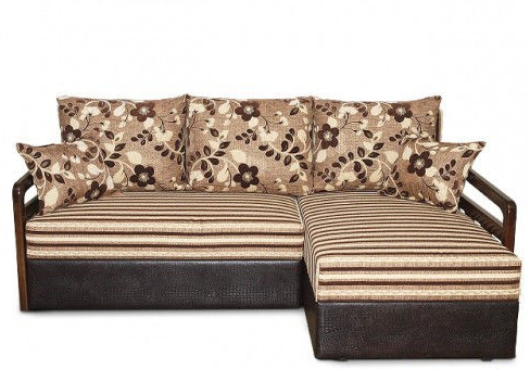 Угловой диван еврокнижка на пружинном блоке Мадрид №2