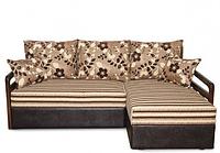 Угловой диван еврокнижка на пружинном блоке Мадрид 2