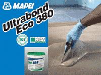 Быстросхватывающийся клей для линолеума,виниловой плитки,ковровых покрытий Ultrabond Eco 380 Mapei,16 кг.