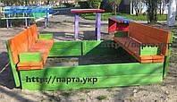"""Песочница для детей 1,5 м """"Травка"""", фото 1"""