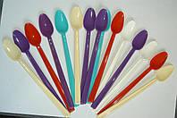 Ложка пластиковая десертная, фото 1
