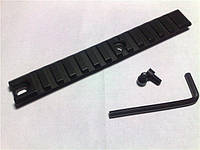 Планка Weaver 155 mm, крепление на оружие