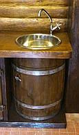 Умывальник из бочки, h-70 см, фото 1