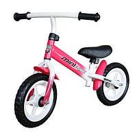 """Беговел для девоки Tempish MiniBike 12"""" розовый"""