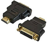 Переходник (адаптер) штекер HDMI- гнездо DVI