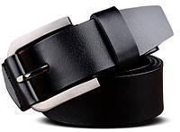 Мужской кожаный ремень с металлической пряжкой Traum 8715-11 ДхШ: 115х3,8 см.