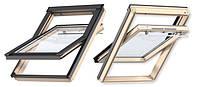 Мансардне вікно VELUX OPTIMA стандарт GZR 3050 CR 02 дерев'яне 55х78 см