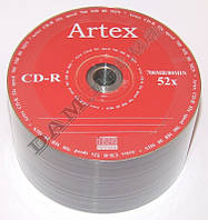Диск CD-R Artex 700MB 80MIN 52x bulk 50