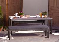Набор садовой мебели Grace Dinning Set in Charcoal 3 piece