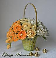 """Букет з цукерок """"Чарівні троянди"""""""