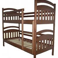 Кровать двухъярусная Лола из натурального дерева