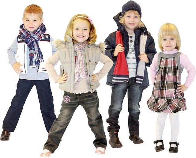 Как правильно определить размер одежды для детей