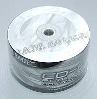 Диск CD-R EMTEC 700mb 80Min 52x bulk 50 Printable