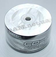 Диск CD-R EMTEC 700mb 80Min 52x bulk 50 Printable