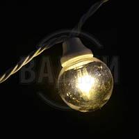 """Аренда led гирлянды """"Белт Лайт Galaxy LED-2BL-33CM-10M-240-W"""", 10+ м, белый тепл."""