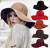 Фетровая шляпа с большим полем, фото 5
