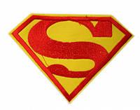Аппликация клеевая супермен