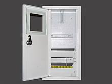 Металевий ящик для однофазного лічильника накладної