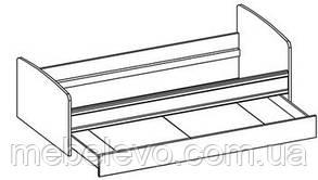 Кровать Валенсия 900 685х2025х975мм дуб самоа   Мебель-Сервис, фото 3