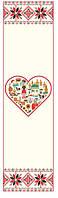 Рушник з серцем. Настінна декорація для дитячого садку